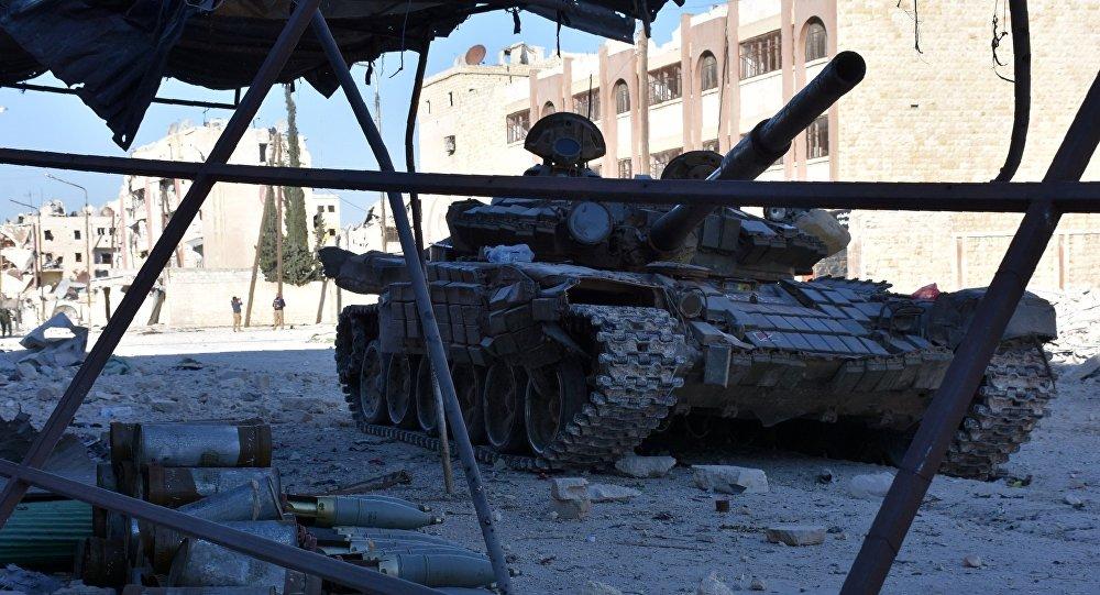 L'armée gouvernementale syrienne a réussi une percée significative dans la libération des quartiers d'Alep-Est
