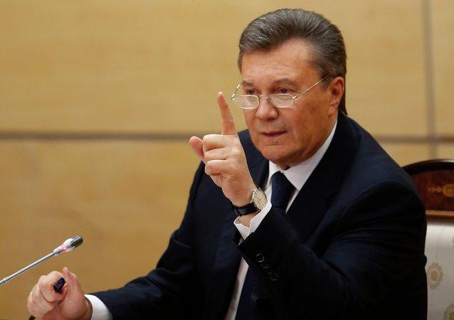 L'ex-président ukrainien Viktor Ianoukovitch