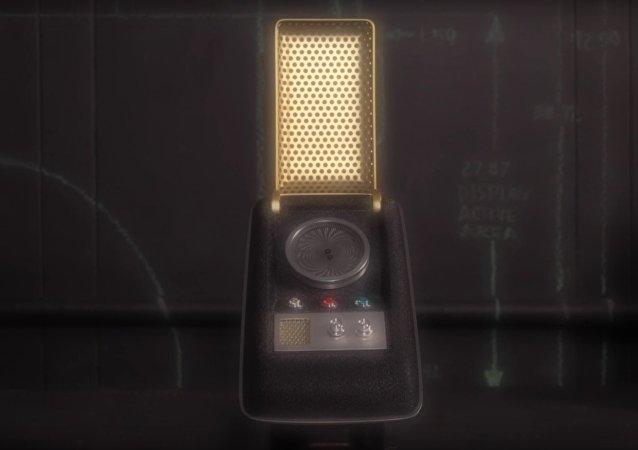 Communicateur est apparu sur les écrans pour la première fois dans le premier épisode de Star Trek