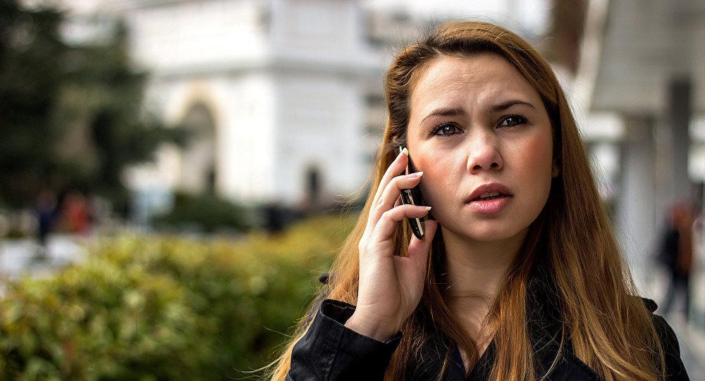 Un appel téléphonique