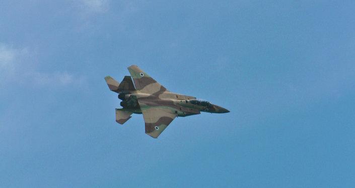 L'avion de l'armée de l'air israélienne