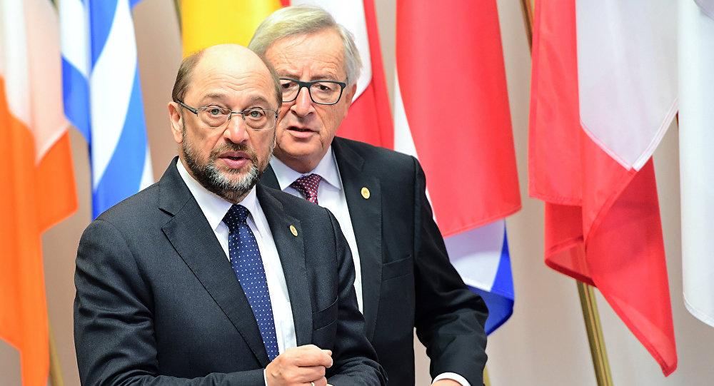 Martin Schulz et Jean-Claude Juncker