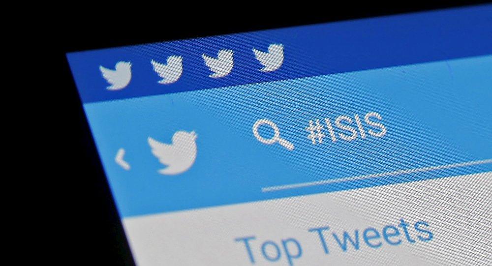 le hashtag #isis
