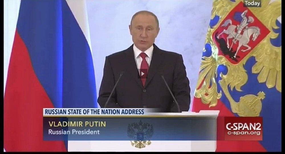 Quand Poutine intervient sur une chaîne gouvernementale US