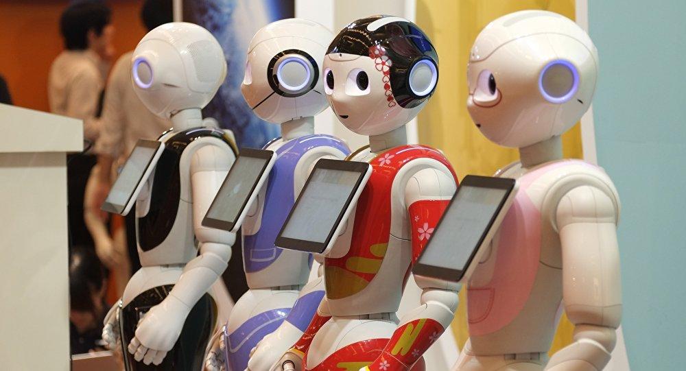 Robots. Image d'illustration