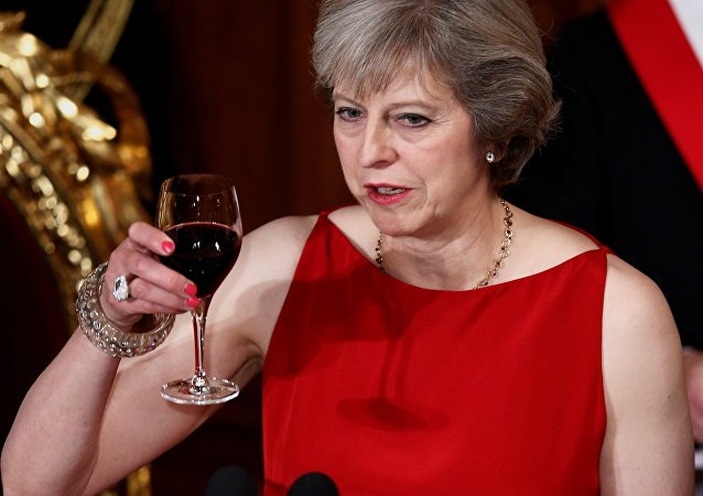 Theresa May. Archive photo