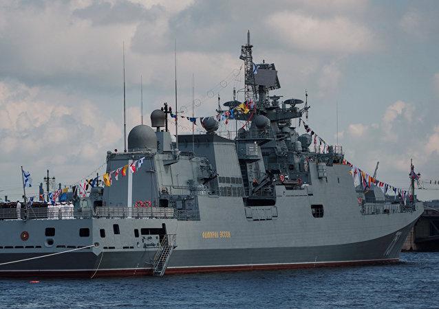 La frégate Admiral Essen