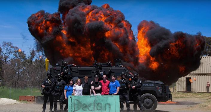 Explosion pour Declan