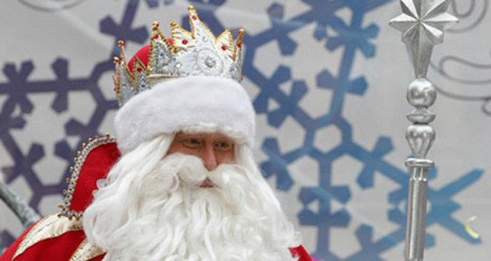 Ded Moroz russe parmi les plus riches magiciens d'hiver