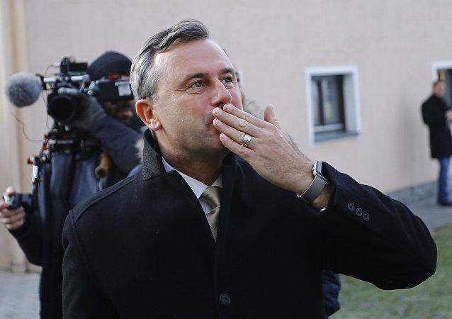 Norbert Hofer a reconnu sa défaite à l'élection présidentielle en Autriche