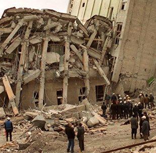 Spitak : après le séisme