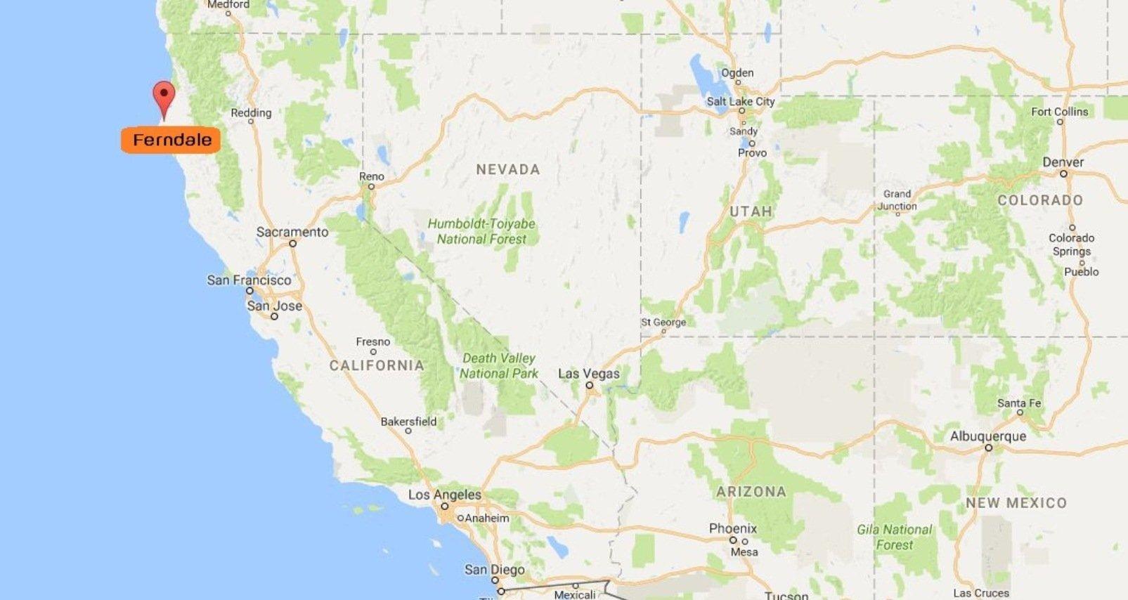 Un séisme de magnitude 6,8 frappe la Californie