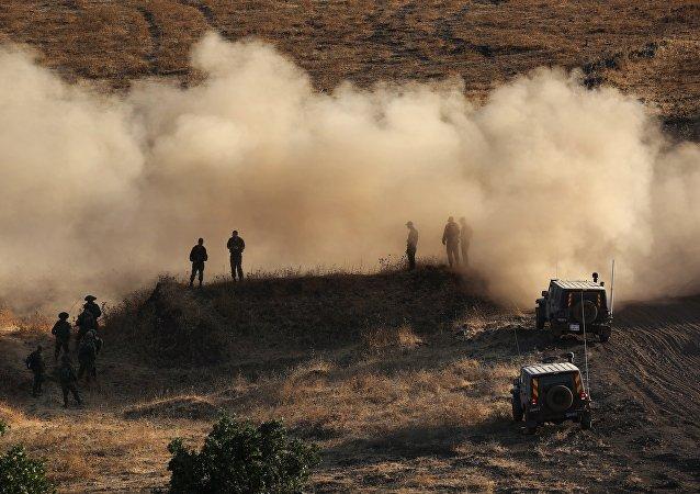 Soldats israéliens, Golan