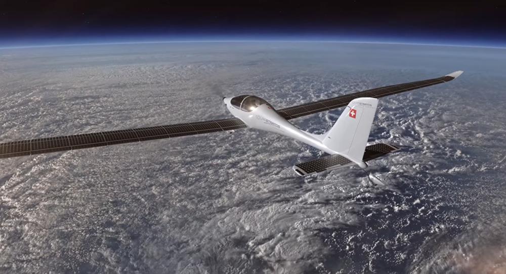 L'avion à propulsion solaire SolarStratos