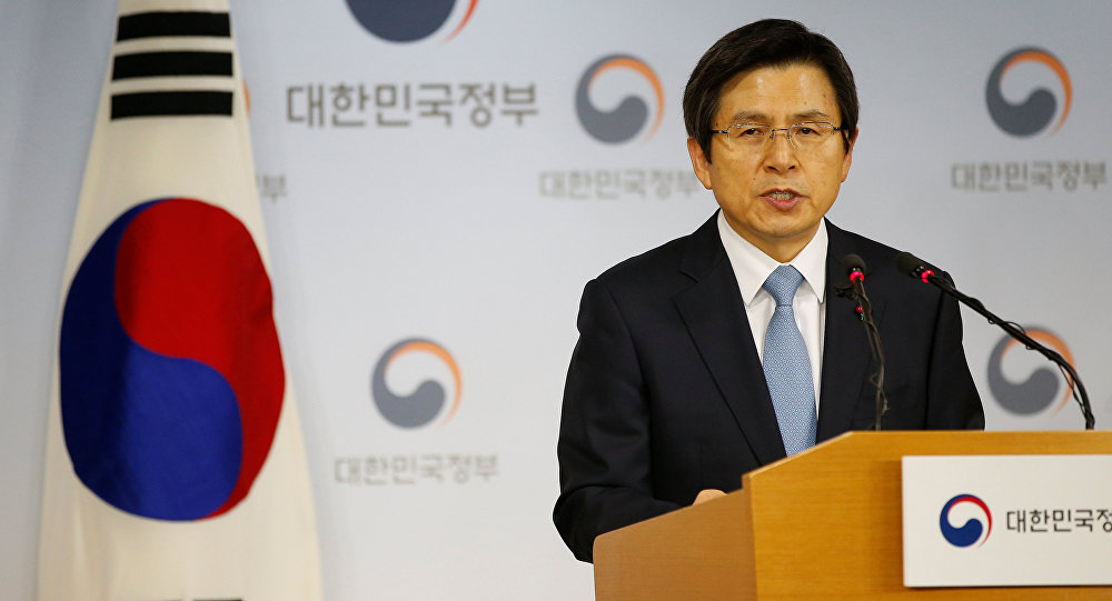 Premier ministre sud-coréen  Hwang Kyo-ahn