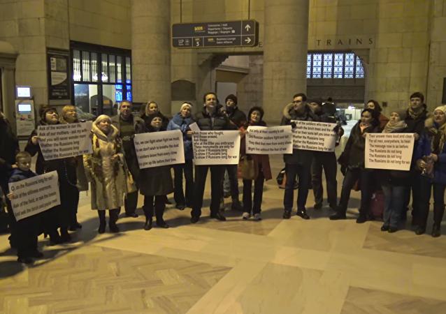 Quand les russophones de Toronto se mettent à chanter la paix…