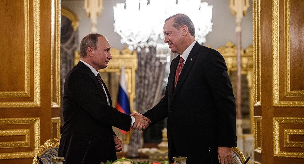 Vladimir Poutine et Erdogan