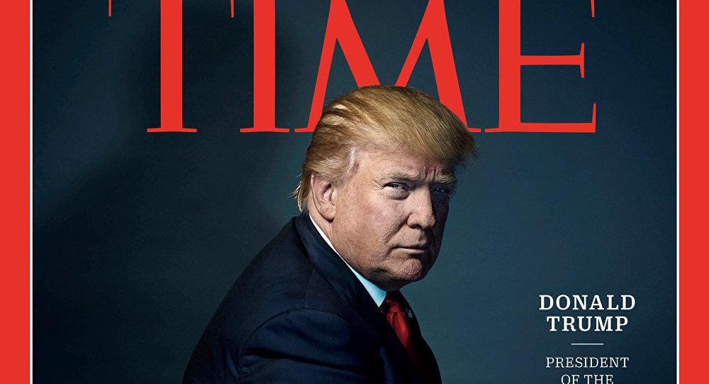 Donald Trump sur la couverture de Time magazine