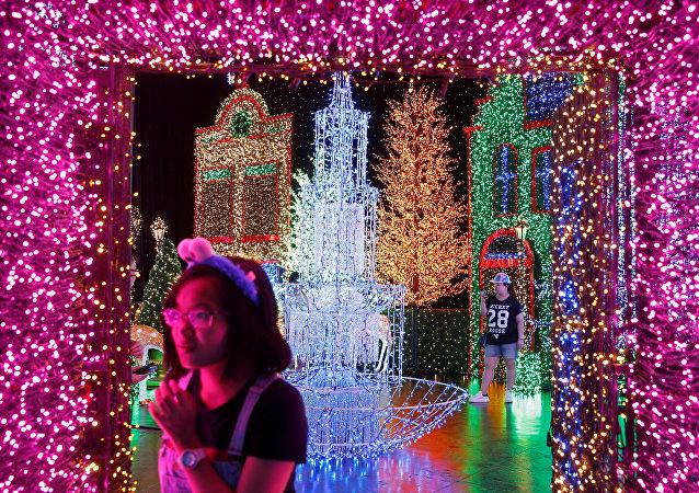 La magie de Noël débarque à Singapour
