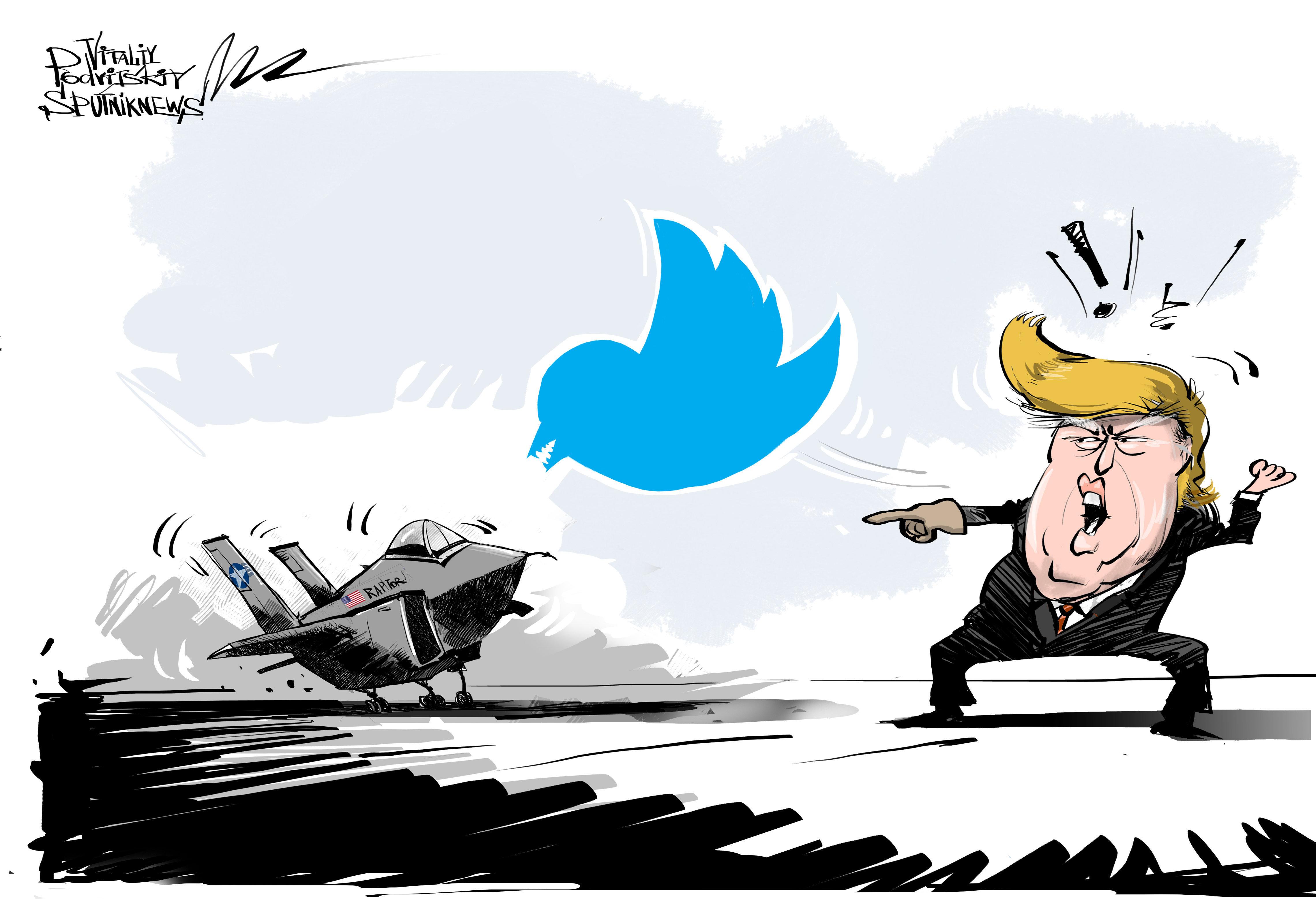 Donald Trump et la météo portent un double coup au constructeur du F-35