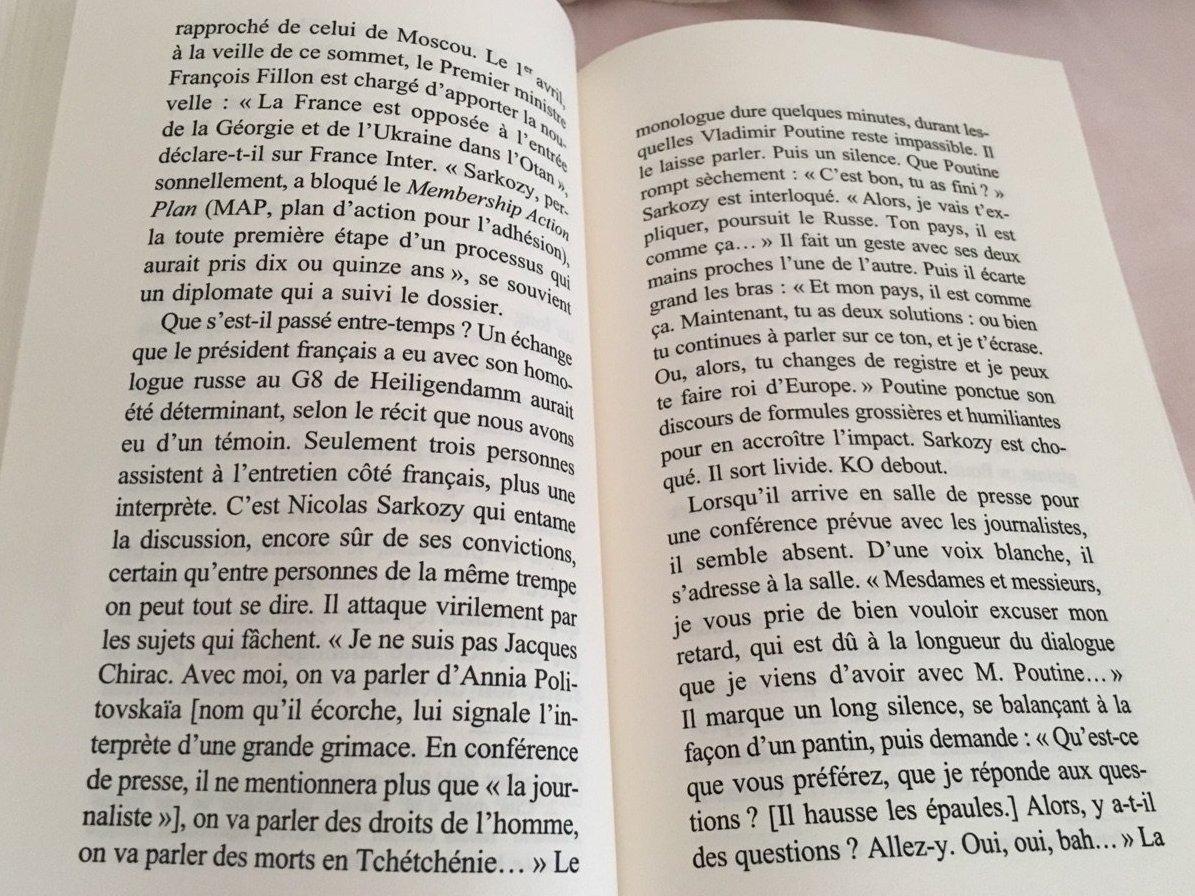 Le livre de Nicolas Hénin « La France russe »