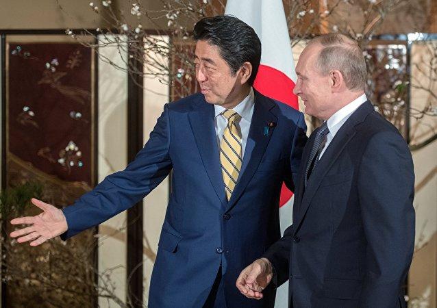 Le président russe Vladimir Poutine lors de visite au Japon, le 16 décembre
