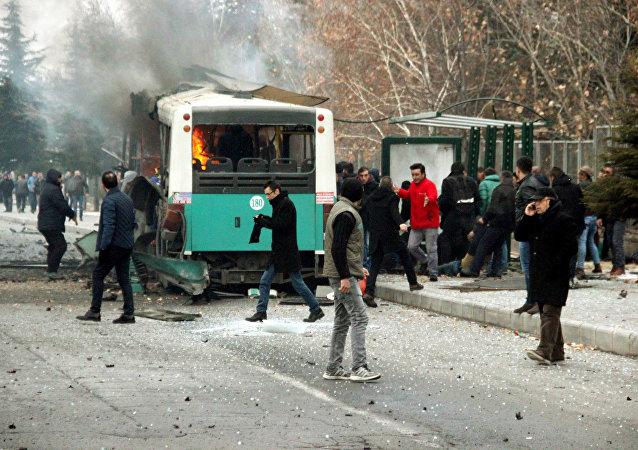 Attentat à Kayseri