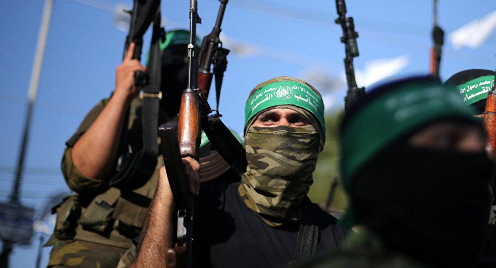 Des militants du mouvement Hamas