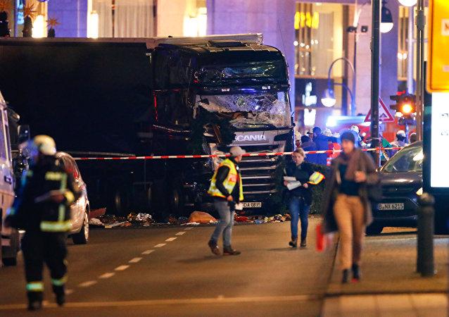 Sur les lieux de la tragédie. Berlin