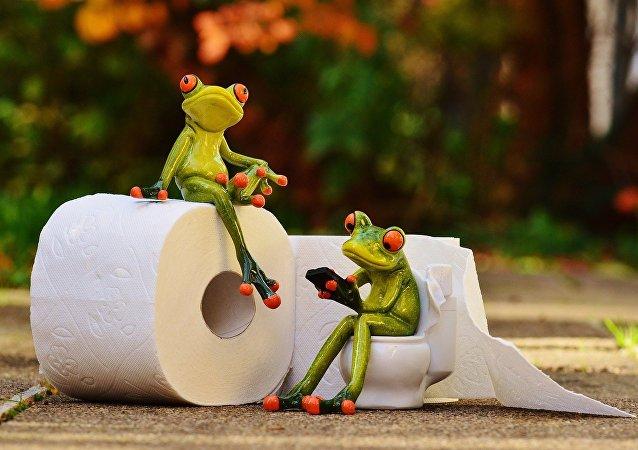 Du papier toilette pour smartphones dans un aéroport japonais