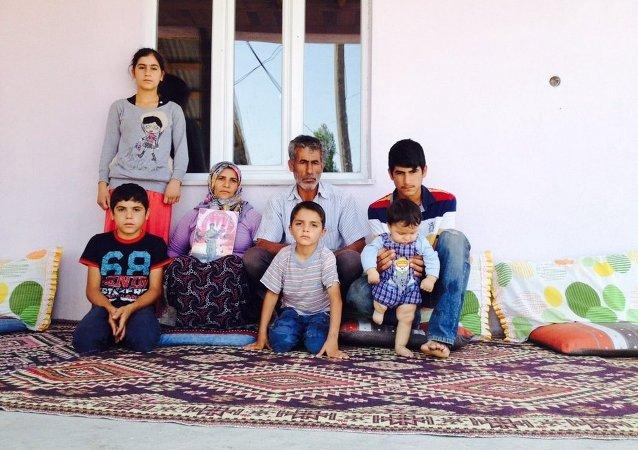 La famille de Serter Taş.
