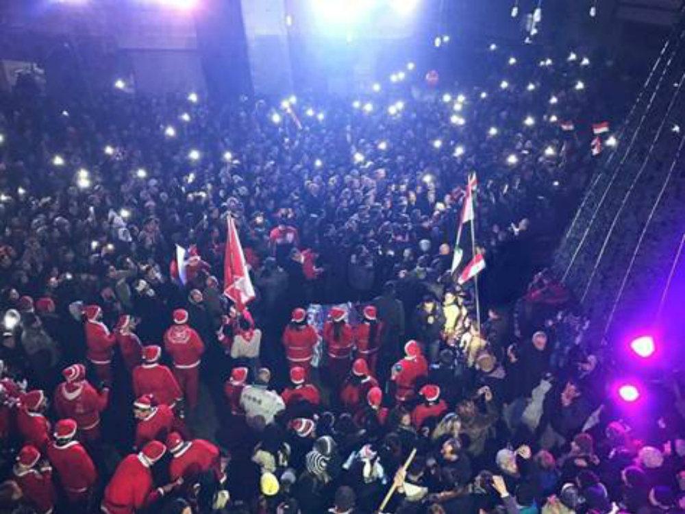 Le Noël à Alep