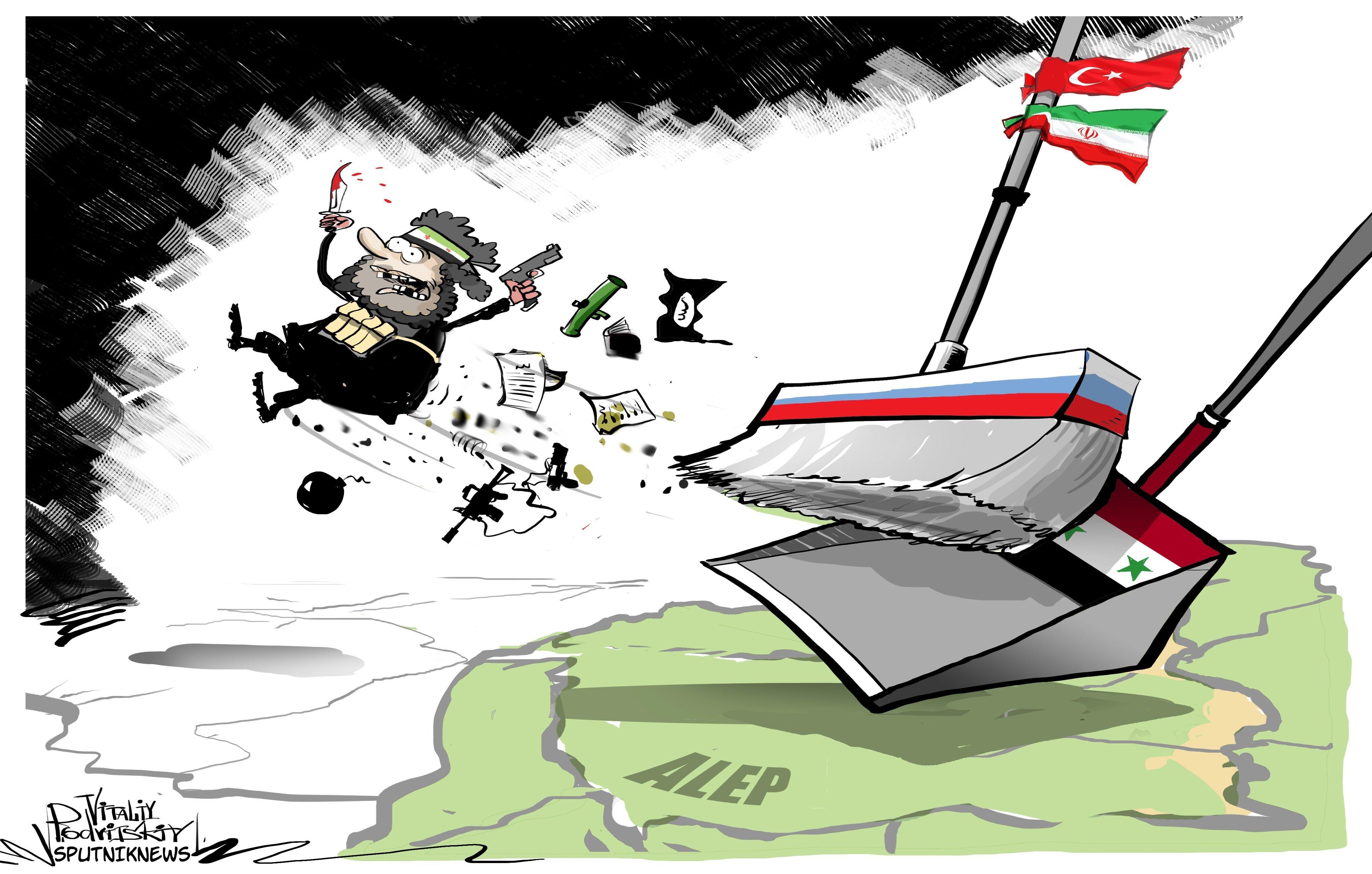L'armée syrienne impose un contrôle total sur Alep