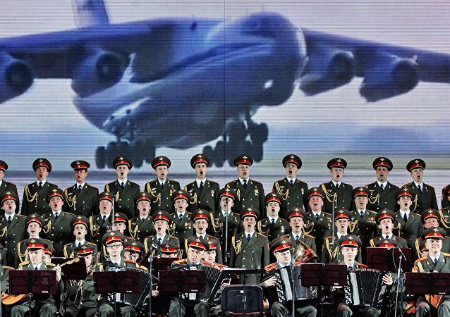 «L'Armée rouge» en deuil de ses collègues du chœur Alexandrov