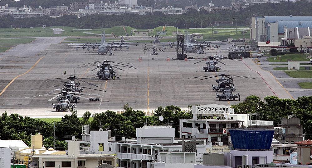 La base militaire américaine de Futenma