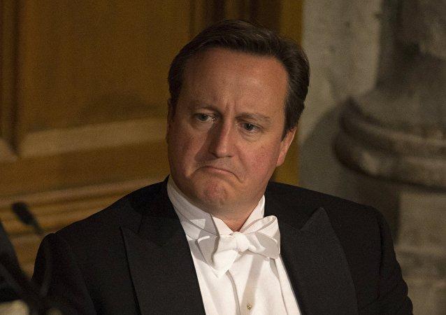 David Cameron, ex-premier ministre britannique