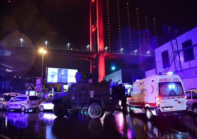 Le terroriste de la boîte de nuit d'Istanbul nomme la cible initiale de l'attaque