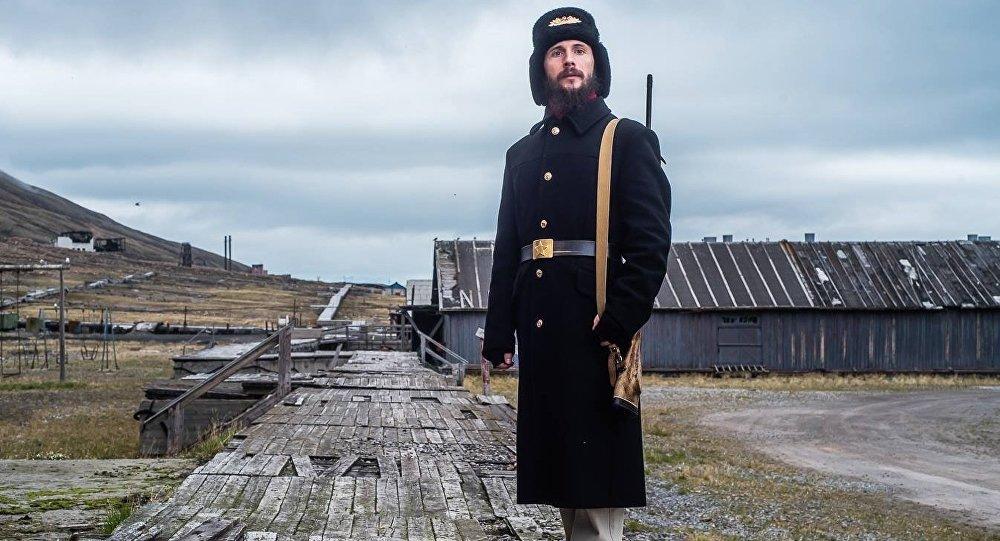 qu'Alexandre Romanovsky au Svalbard