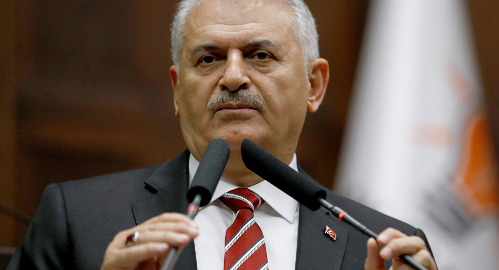 Binali Yildirim. (File)