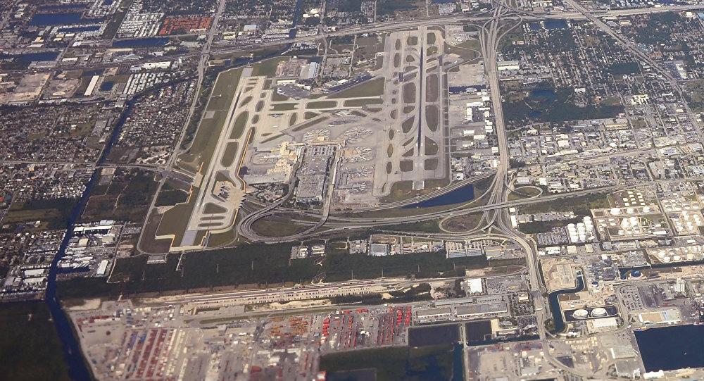 L'aéroport de Fort Lauderdale, en Floride