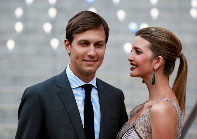 La fille de Donald Trump Ivanka Trump et son mari Jared Kushner