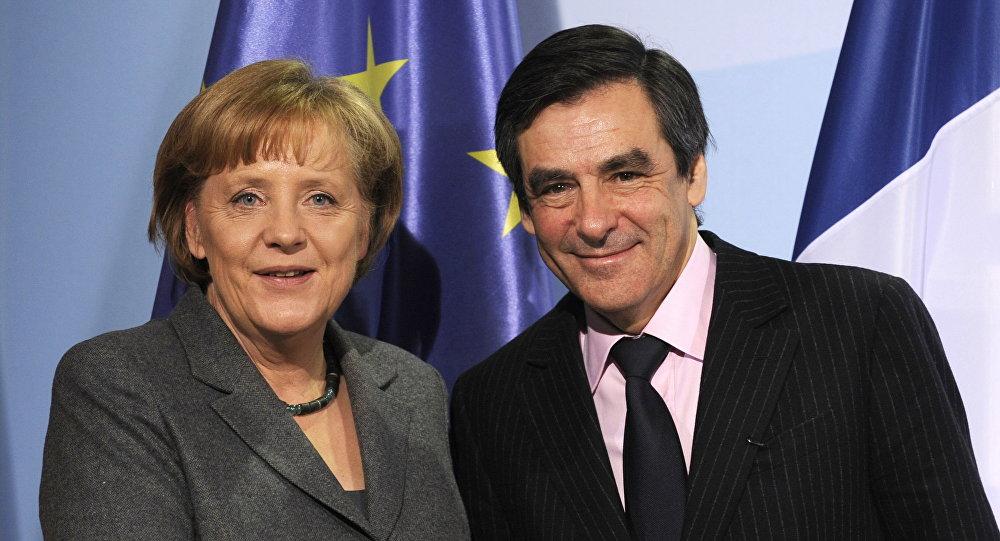 Fillon et Merkel