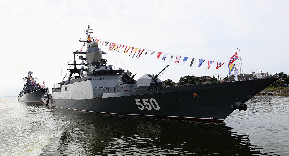corvette russe Steregouchtchi