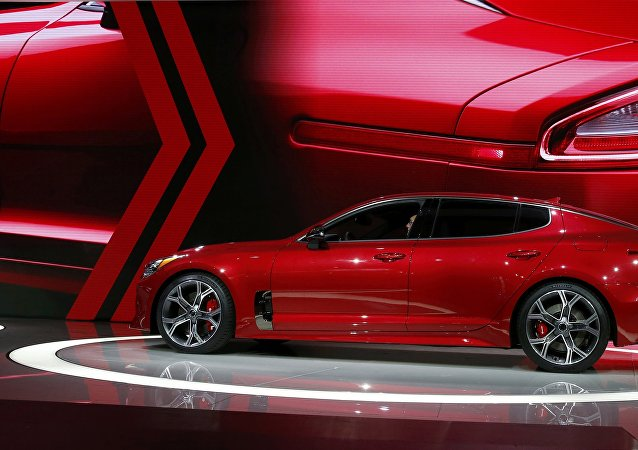 The 2018 Kia Stinger is introduced during the North American International Auto Show in Detroit, Michigan, U.S., January 9, 2017