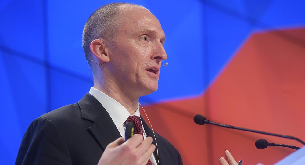 Carter Page. Archive photo