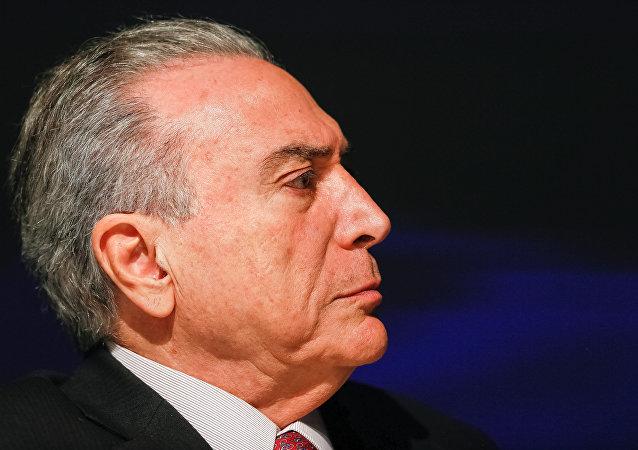 Michel Temer, le président brésilien