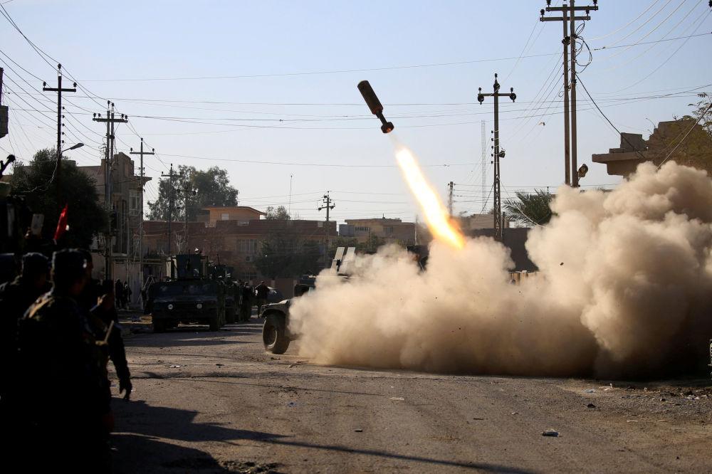 Dans le cadre de l'opération de libération de Mossoul des terroristes de Daech, les forces spéciales irakiennes ont pris le contrôle du bâtiment universitaire situé dans la partie orientale de la ville