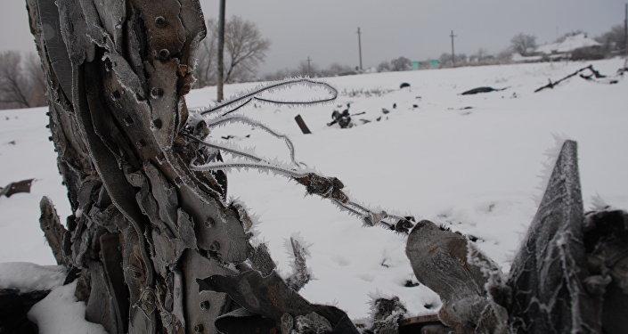 Lieu du crash du MH17 (Archives)