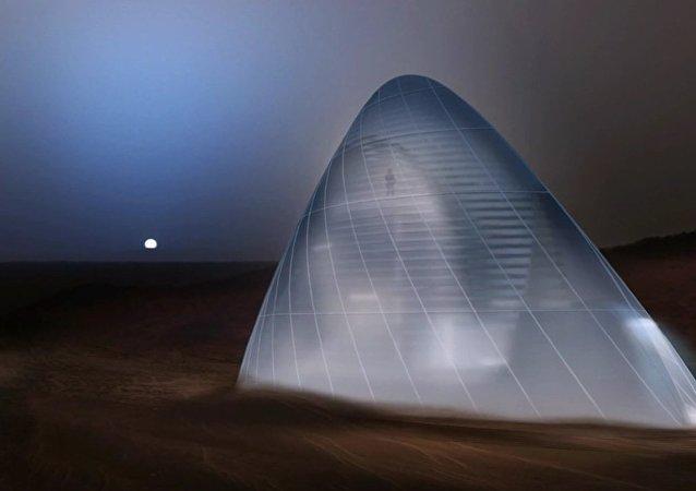La NASA veut des maisons de glace sur Mars pour protéger des rayonnements