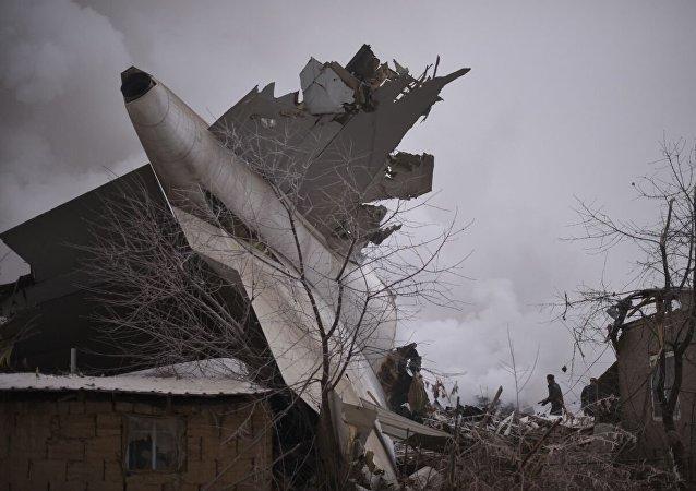 Le crash de Bichkek